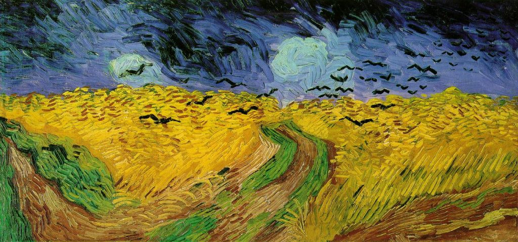 Finding a style in your photography: study Vincent Van Gogh's last painting