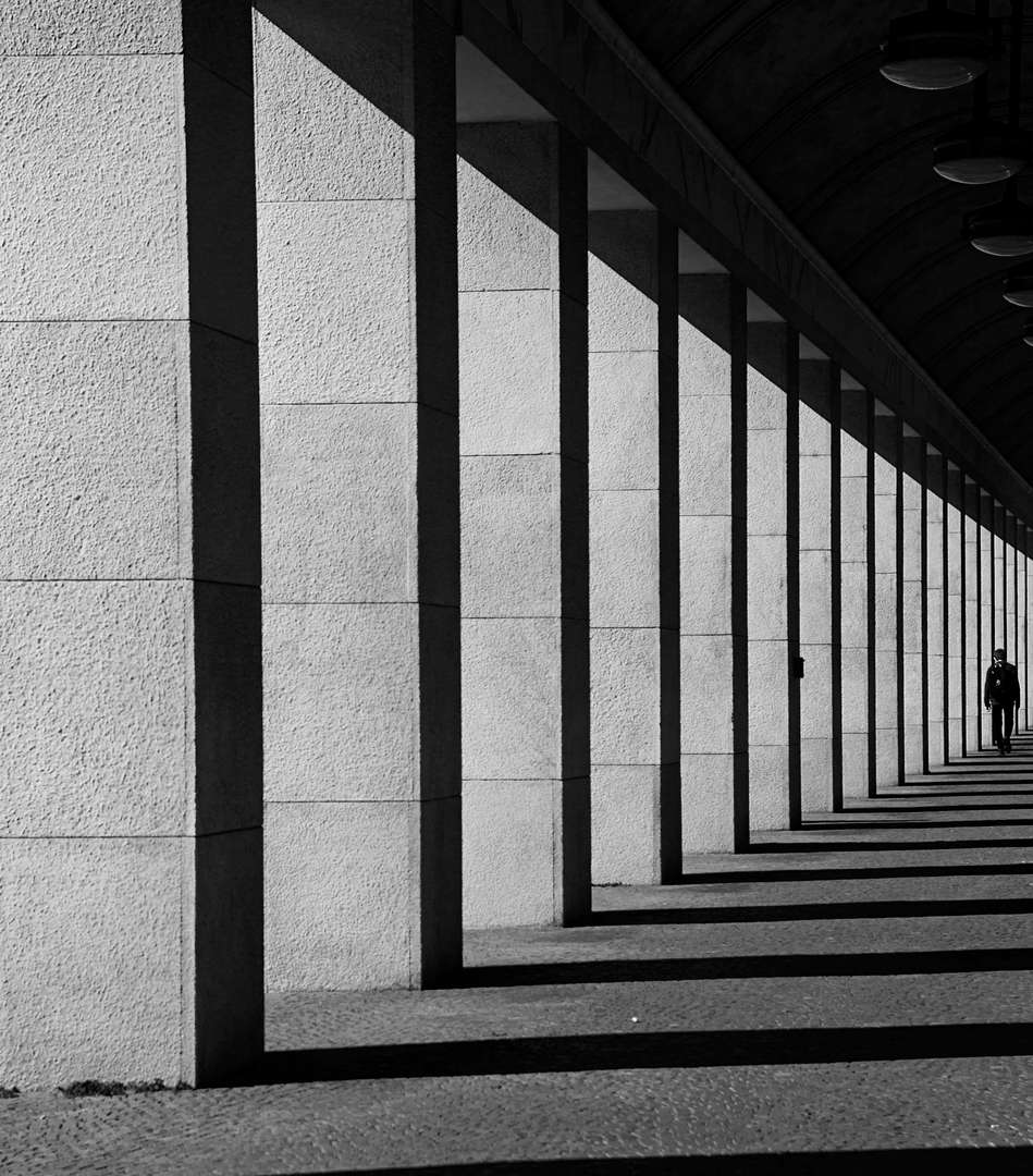 minimalism street photography and art
