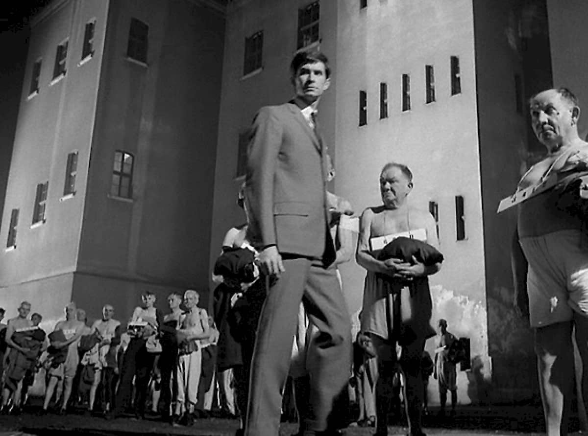 Trial Orson Welles cinematography