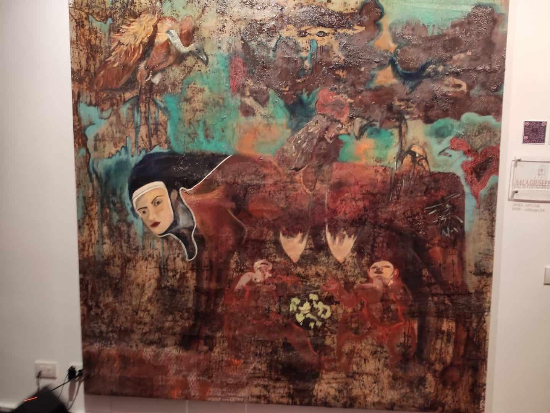 Vernissage Rome art exposition