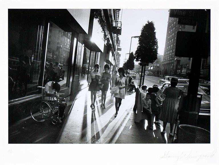 Street photography Garry Winogrand: analysis