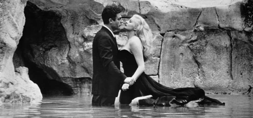 Wonderful photography in Federico Fellini's movies