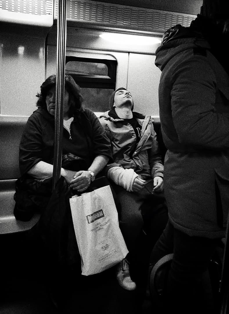 Underground street photography