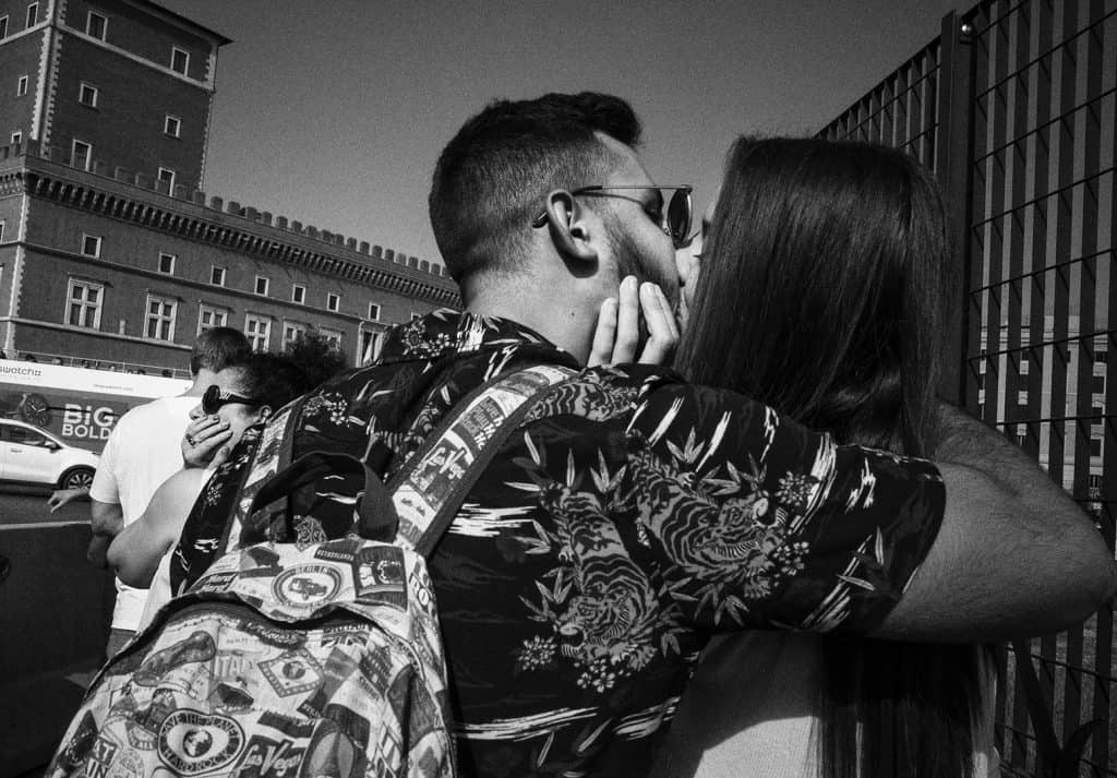 Street photography, last update on my Instagram: love in Rome