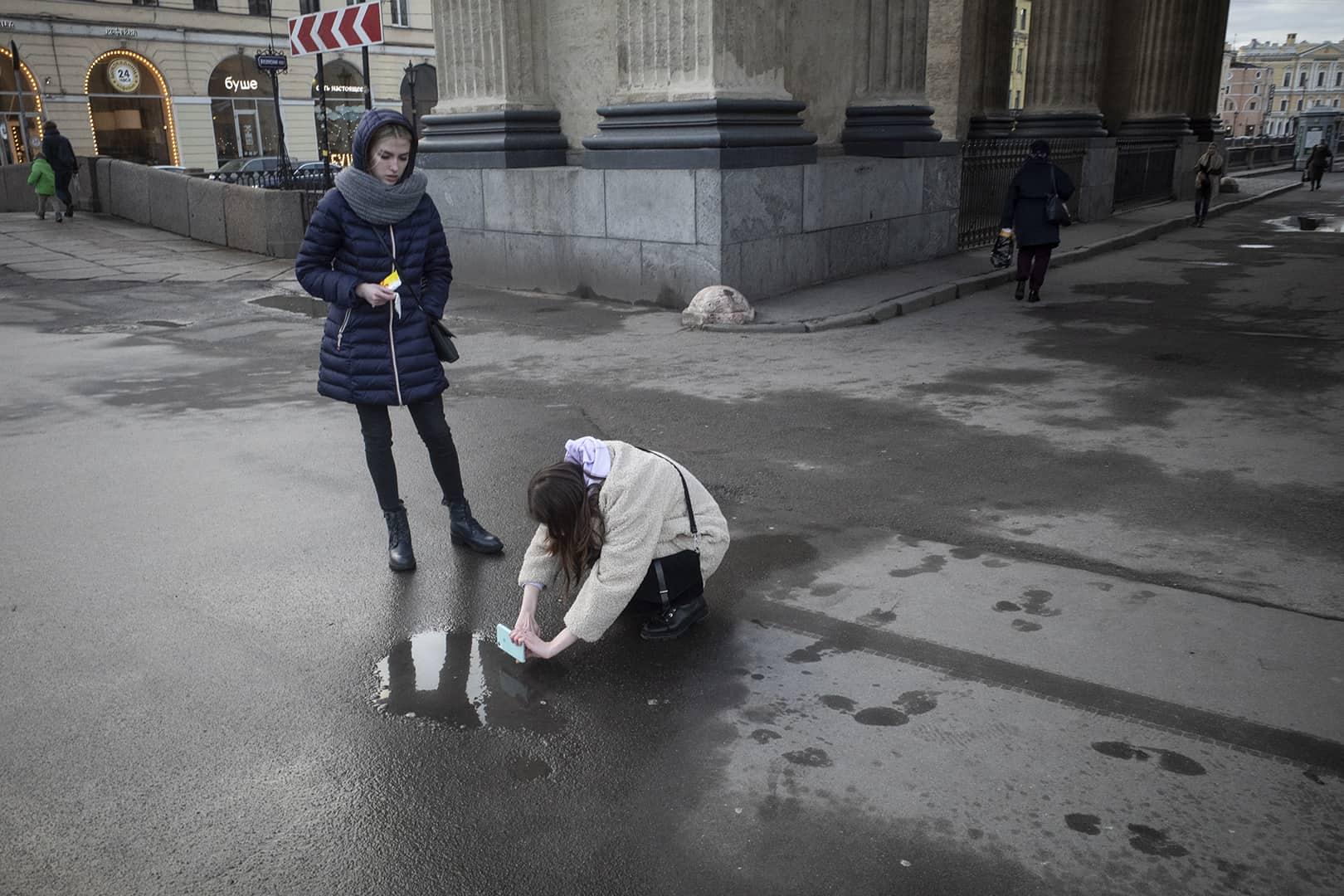 street photography Saint Petersburg