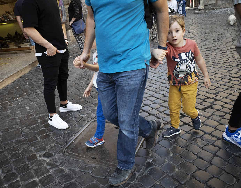 street photography Rome